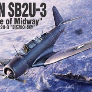 "Academy 12324 SB2U-3 VINDICATOR ""BATTLE OF MIDWAY"""