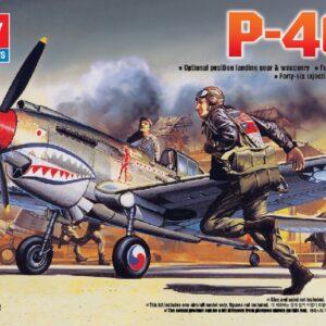 Academy 12456 CURTISS P-40B TOMAHAWK