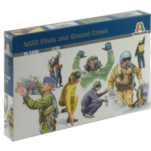 ITALERI 1246 Nato Pilots And Ground Crews
