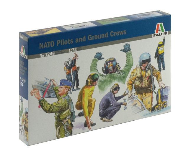 ITALERI 1246 Nato Pilots And Ground Crews