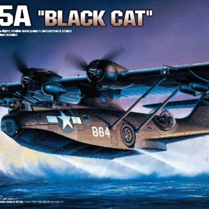 Academy 12487 PBY-5A BLACK CATALINA