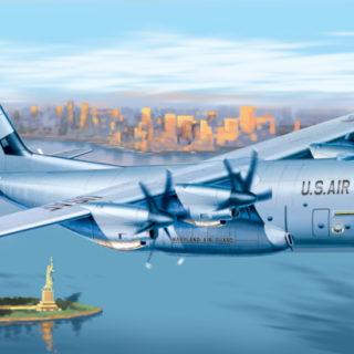 ITALERI 1255S C-130 J  Hercules