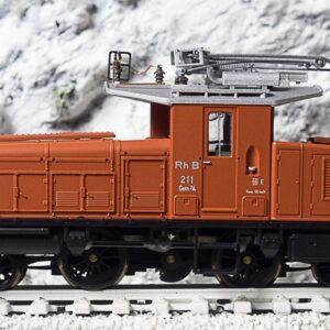 Bemo 1257111 Locomotiva da manovra RhB Gem 2/4 211