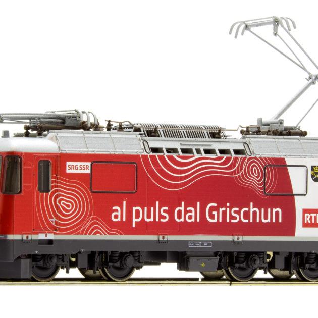 Bemo 1258173 Locomotiva elettrica RhB Ge 4/4 II 633 'R
