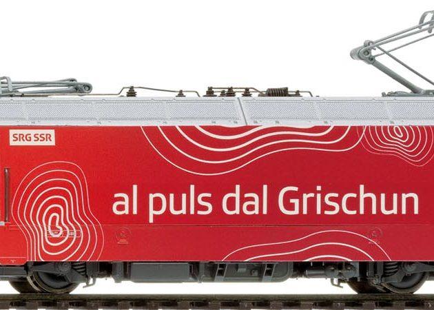 Bemo 1259165 Locomotiva elettrica RhB Ge 4/4 III 645 '
