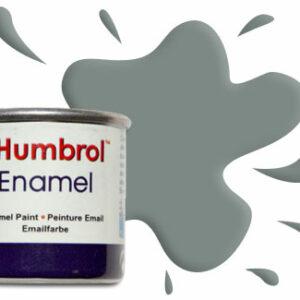 Humbrol Smalto sintetico grigio medio Us satinato 126 Modellismo
