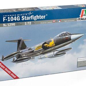 """ITALERI 1296 F-104 G """" Recce """""""