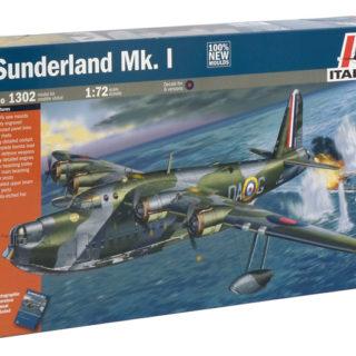 ITALERI 1302 Sunderland Mk I - Prm Edition