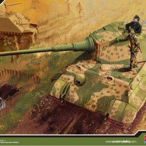 ACADEMY 13229 German King Tiger Last Production