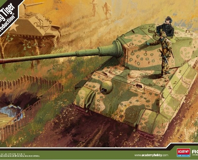ACADEMY 13229 German King Tiger Last Production