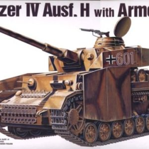 Academy 13233  GERMAN PANZER IV H W/ARMOR