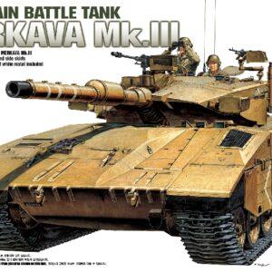 ACADEMY 13267 I.D.F. Merkava Mk-Iii (Ac1391)