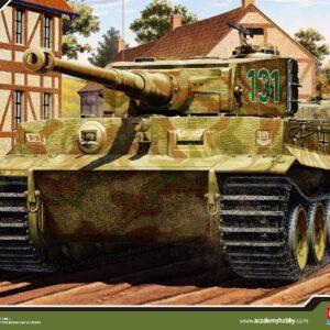 ACADEMY 13287 German Tiger I Ver. Mid