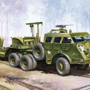 ACADEMY 13409 U.S. Tank Transporte Dragon Wagon