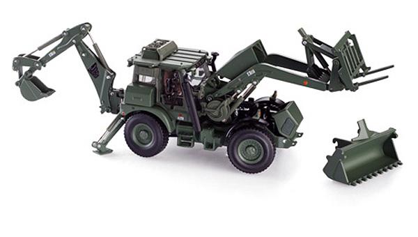 MotorArt 13478 JCB Ruspa militare Modellismo