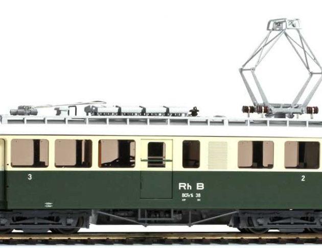 Bemo 1368118 Elettromotrice RhB BCFe 4/4 38