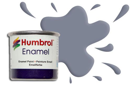 Humbrol Smalto sintetico grigio scuro opaco 140 Modellismo