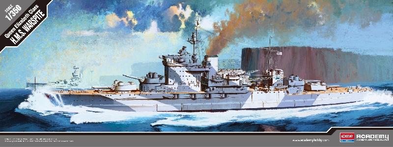 """ACADEMY 14105 Queen Elizabeth Class """"H.M.S.Warspite"""""""