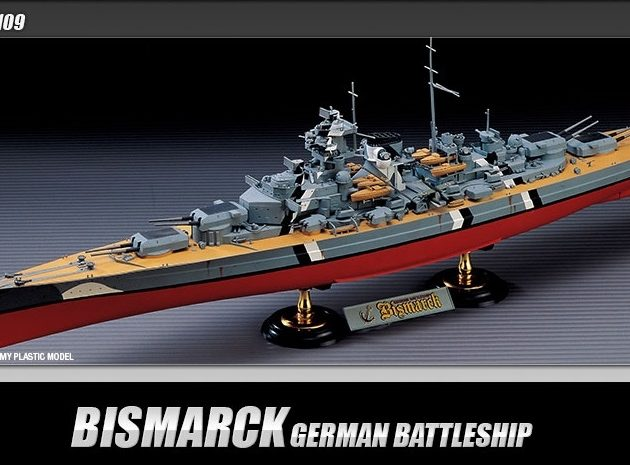 ACADEMY 14109 German Battleship Bismarck
