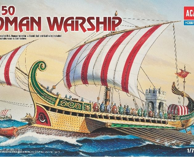 Academy 14207  ROMAN WAR SHIP