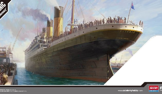 "ACADEMY 14214 R.M.S. Titanic ""Centenary Anniversary"" - Mcp Version"