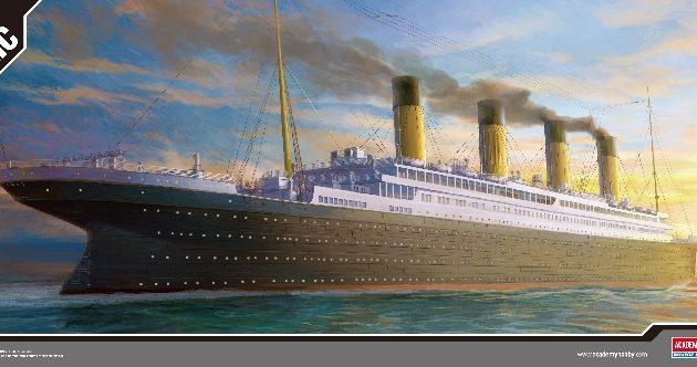 ACADEMY 14215 Rms Titanic