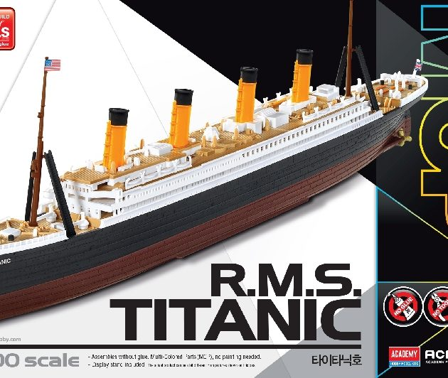 ACADEMY 14217 R.M.S. TITANIC Multi Color Parts