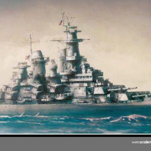 "Academy 14223  USS MISSOURI BB-63 ""MODELER'S ED."""