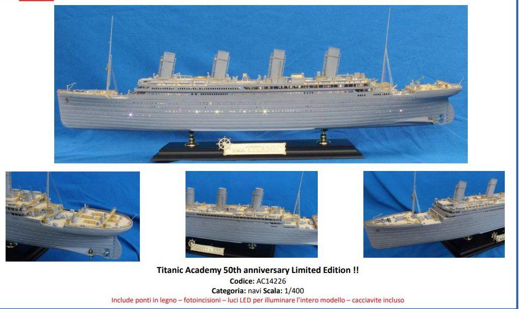 Academy 14226 Titanic Academy 50th Anniversary