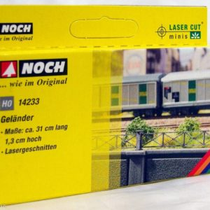 Noch 14233 Laser cut - ringhiera ferrovia HO Modellismo