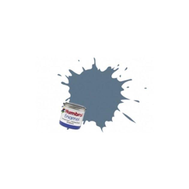 Humbrol Smalto sintetico blu intermedio opaco 144 Modellismo