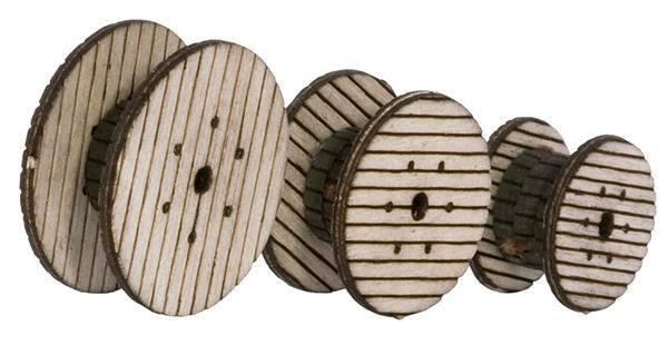 Noch 14638 Laser cut - 3 bobine cavi  N Modellismo