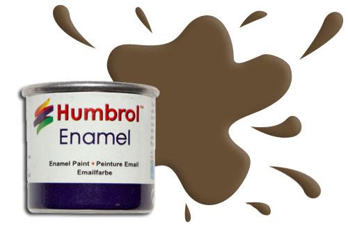 Humbrol Smalto sintetico oliva opaco 155 Modellismo