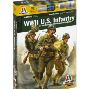 ITALERI 15603 WWII Us Infantry - Include 10 Miniature M