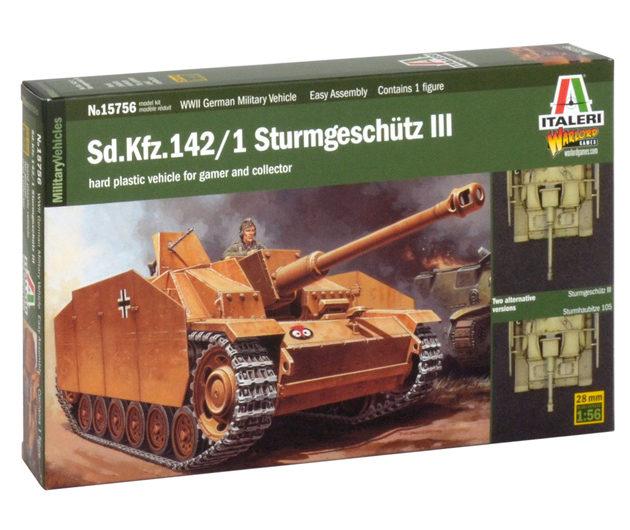 ITALERI 15756 Sd.Kfz. 142/1 Sturmgeschutz Iii