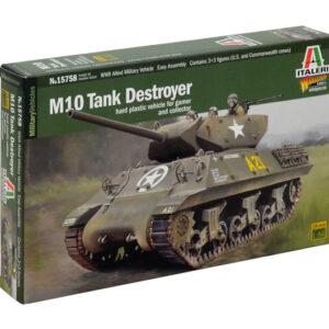 ITALERI 15758 M10 Tank Destroyer - include figurino NUO