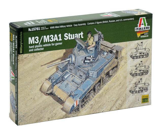 Italeri 15761  M3 STUART LIGHT TANK