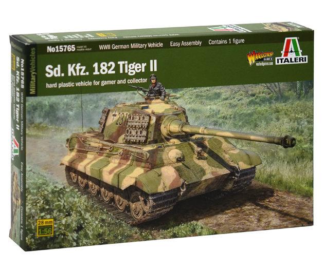 Italeri 15765  KING TIGER