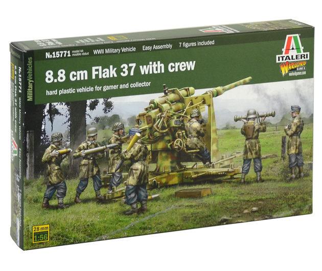 Italeri 15771 1/56 8.8 cm Flak 37