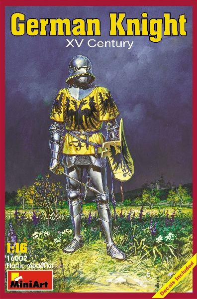 MINIART 16002 German Knight. Xv Century