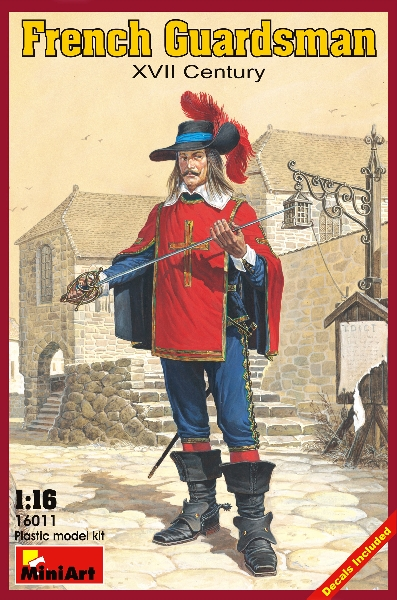MINIART 16011 French Guardsman. Xvii C.