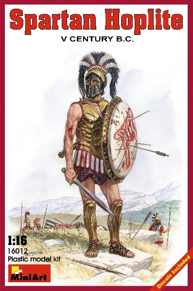 MINIART 16012 Spartan Hoplite.  V Century B.C.