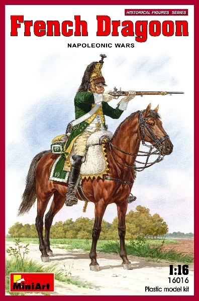 MINIART 16016 French Dragoon. Napoleonic Wars.