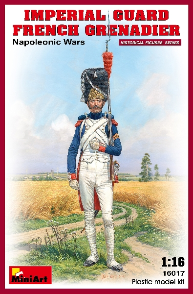 MINIART 16017 Imperial Guard French Grenadier. Napoleon