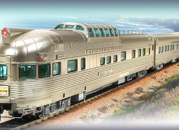 Broadway_Limited 1797 California Zephyr Train