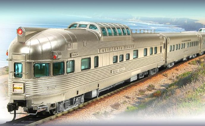 Broadway_Limited 1797 California Zephyr Train