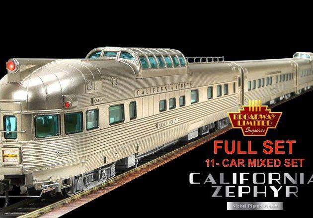 Broadway_Limited 1798 California Zephyr Train