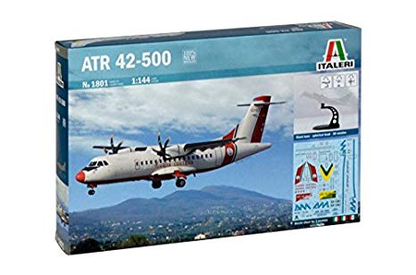 ITALERI 1801 ATR42-500 Guardia Costiera in kit da mont