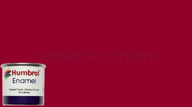 Humbrol Smalto sintetico crimson lucido 20 Modellismo