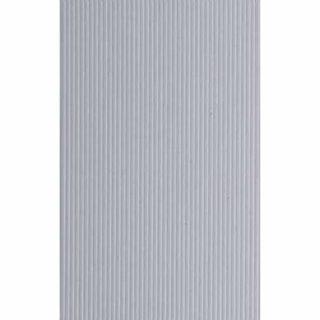 Evergreen 2040 Foglio rigato stirene bianco 15x30cm 0